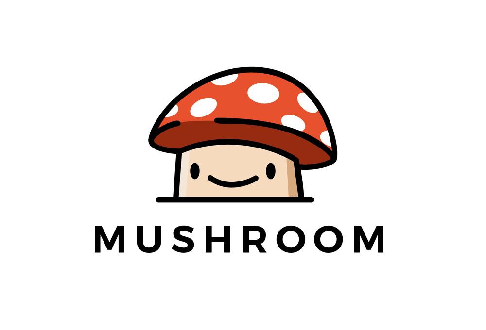 Cute Mushroom clipart png free