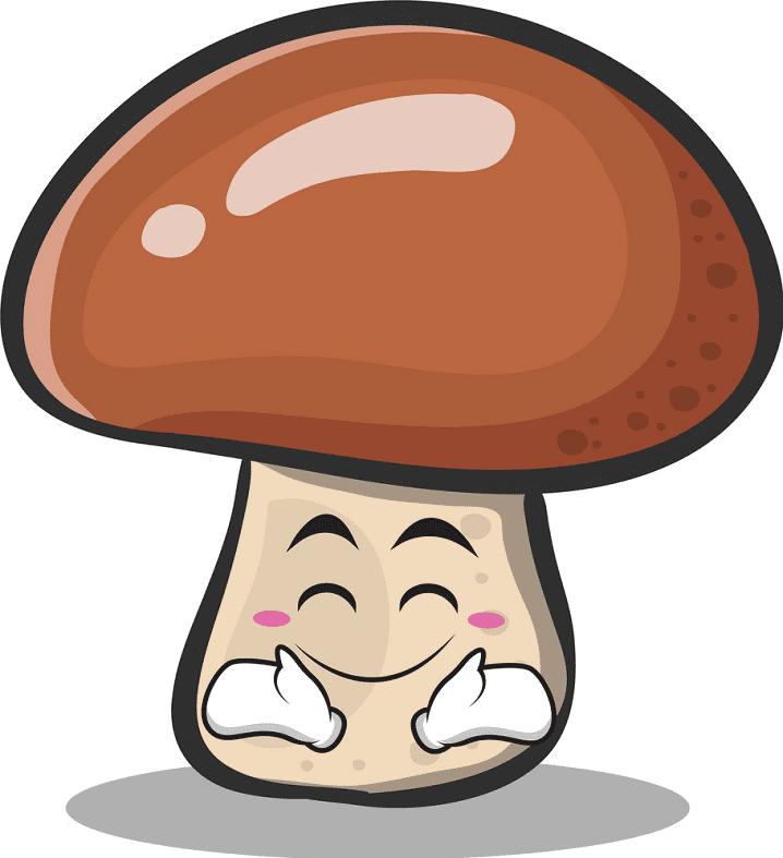 Cute Mushroom clipart png image