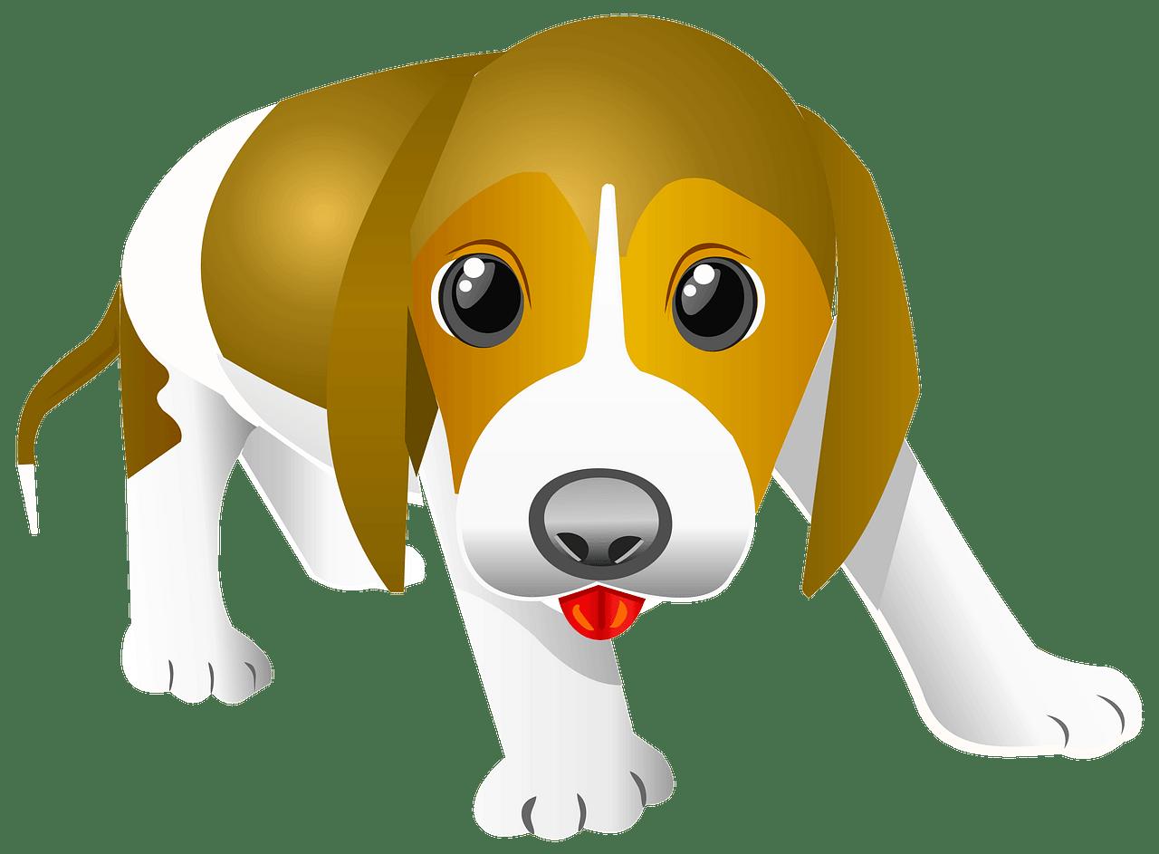 Cute Puppy clipart transparent