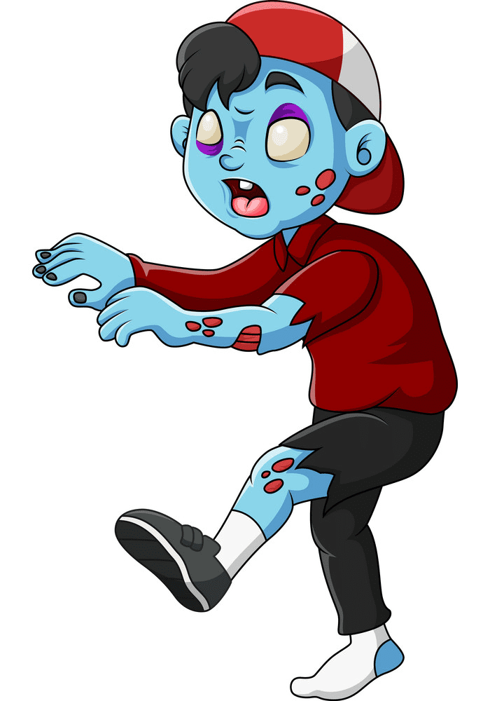 Cute Zombie clipart free