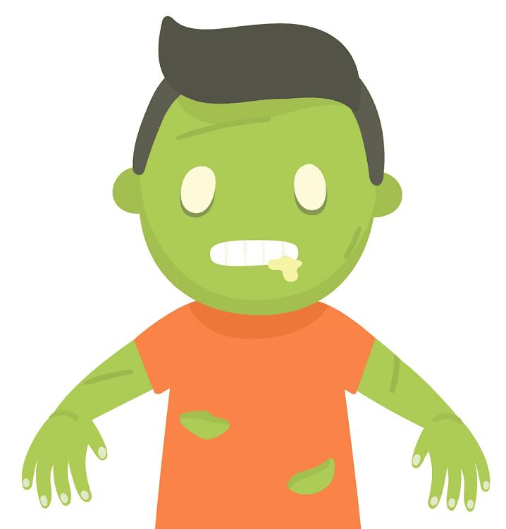 Cute Zombie clipart images