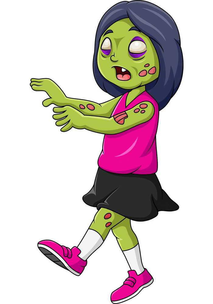Cute Zombie clipart png