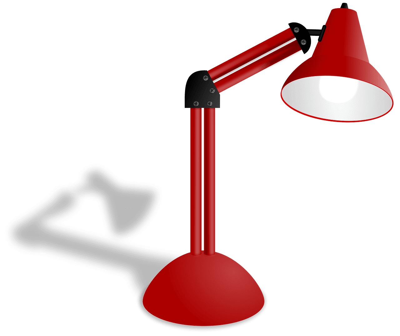 Desk Lamp clipart transparent
