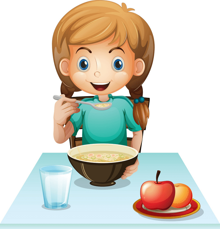 Eating Breakfast clipart for free