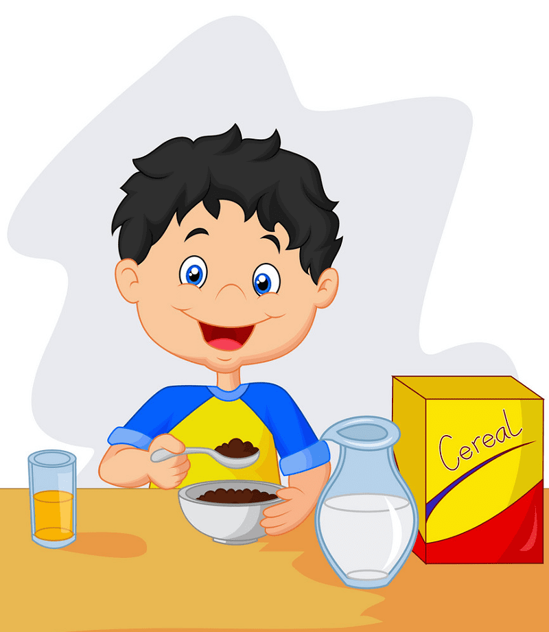 Eating Breakfast clipart png images