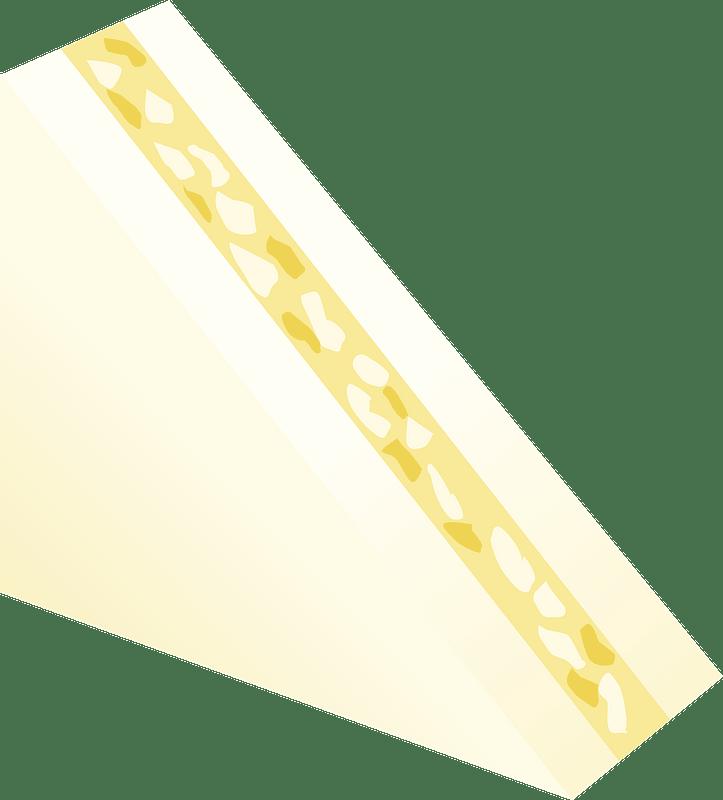 Egg Sandwich clipart transparent