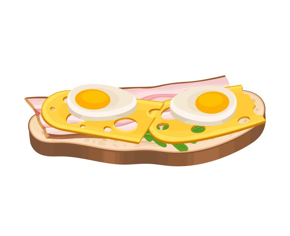 Egg Sandwich clipart