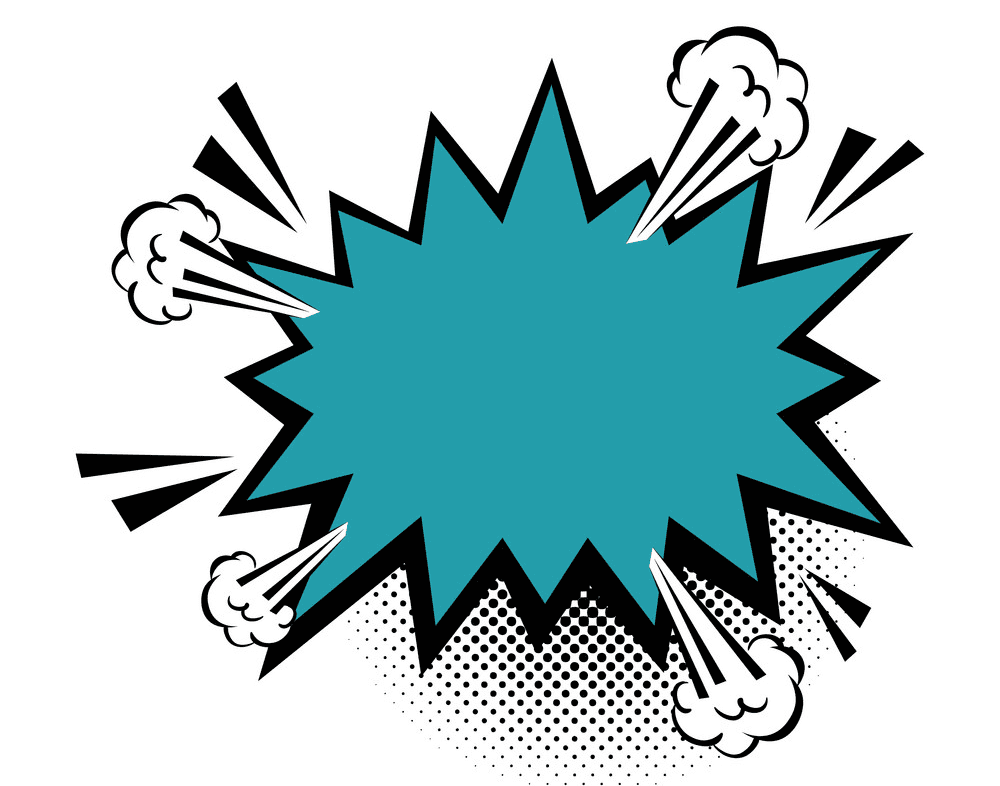 Explosion clipart download