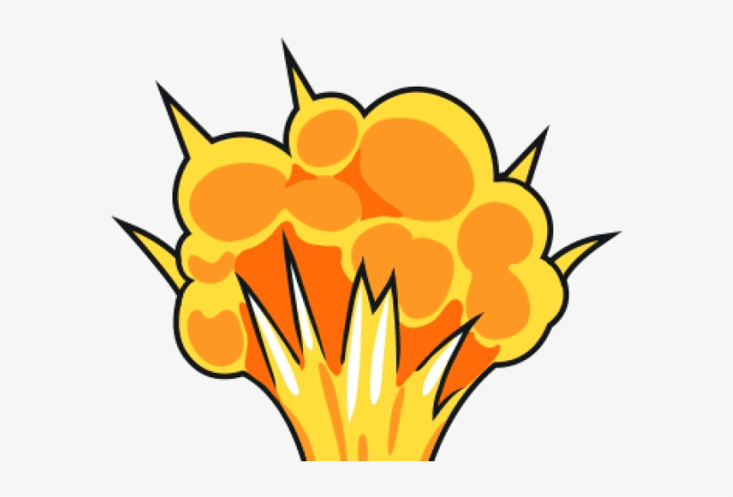 Explosion clipart free image