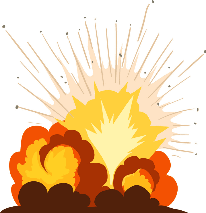 Explosion clipart images