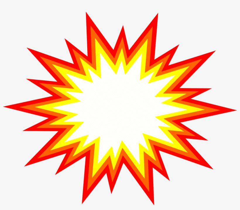 Explosion clipart picture