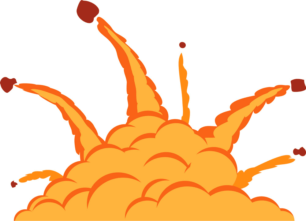 Explosion clipart png 1