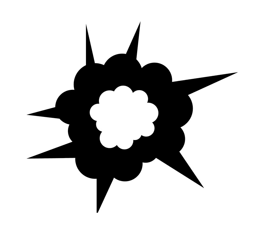 Explosion clipart png 2