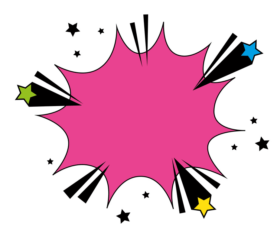 Explosion clipart png 3