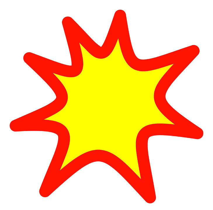 Explosion clipart png 6