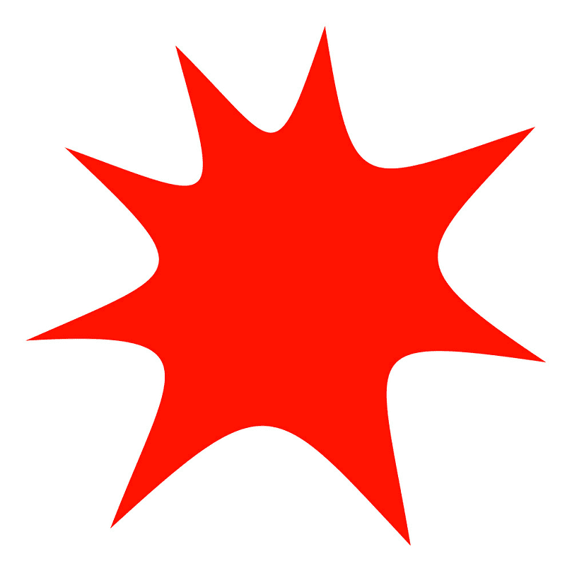 Explosion clipart png 7