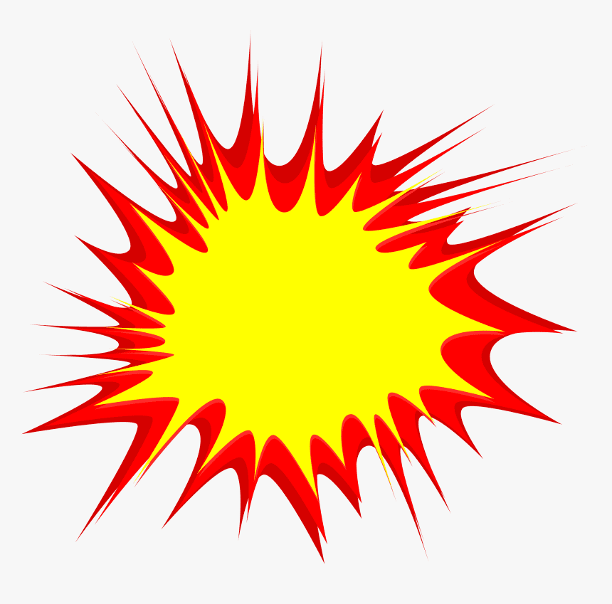 Explosion clipart png for kid
