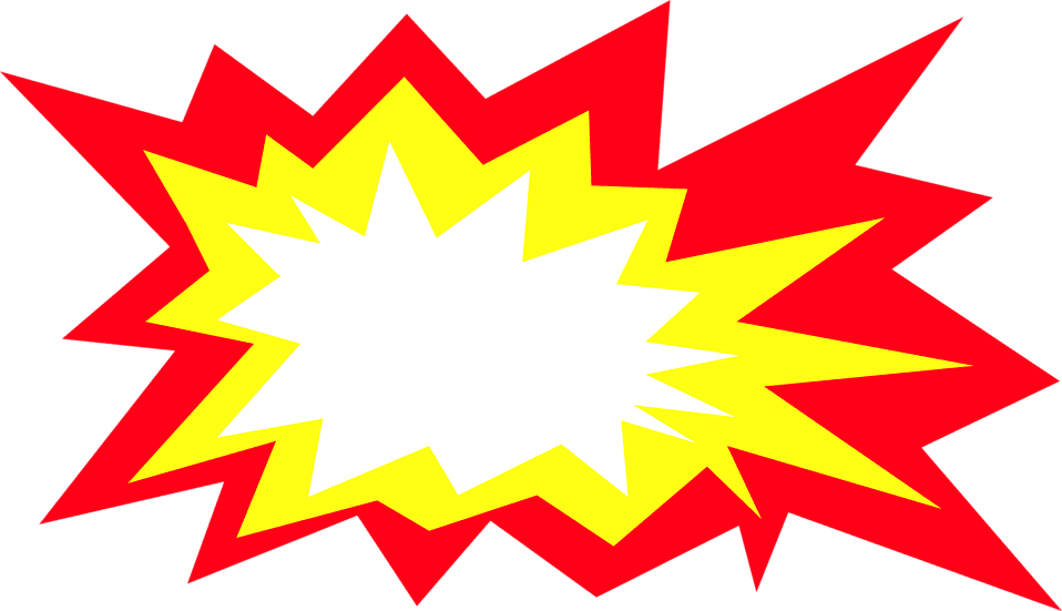 Explosion clipart png free