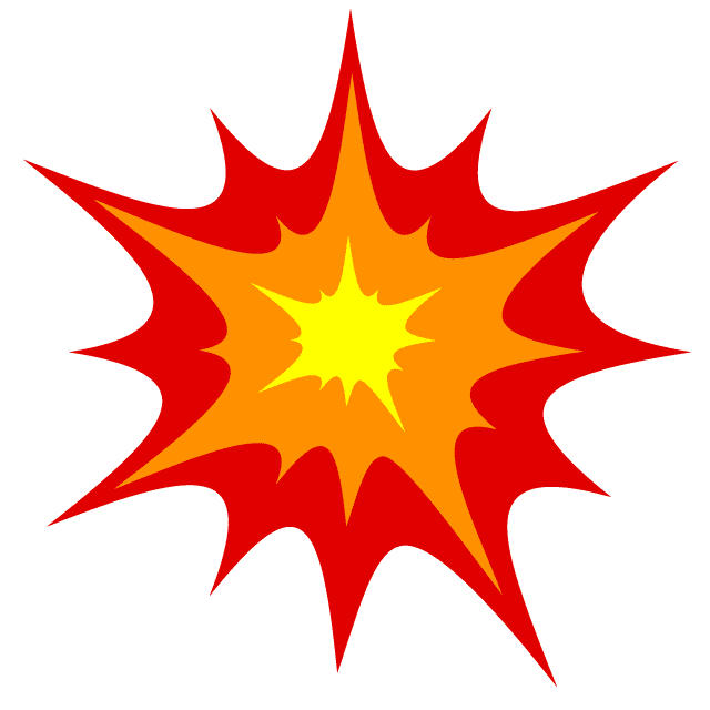 Explosion clipart png image