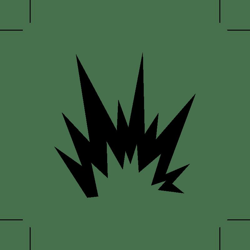 Explosion clipart transparent 1