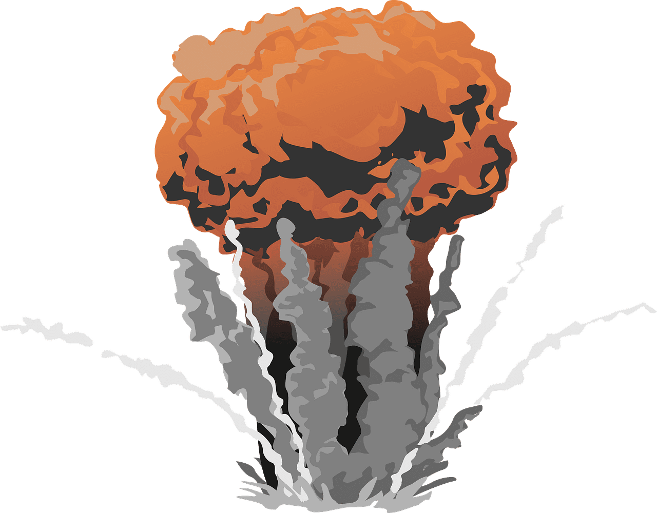 Explosion clipart transparent image