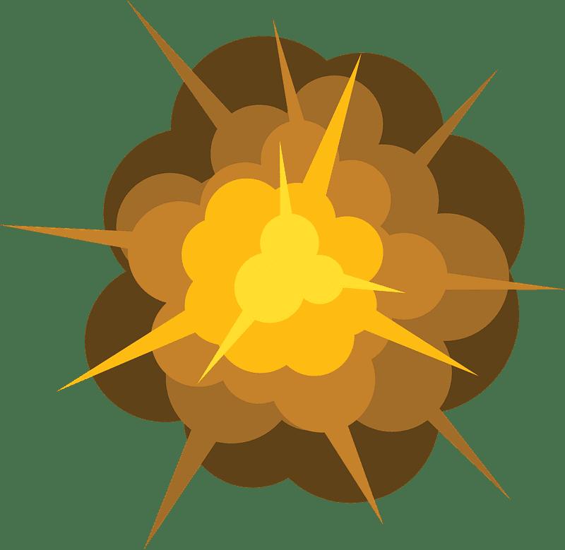 Explosion clipart transparent