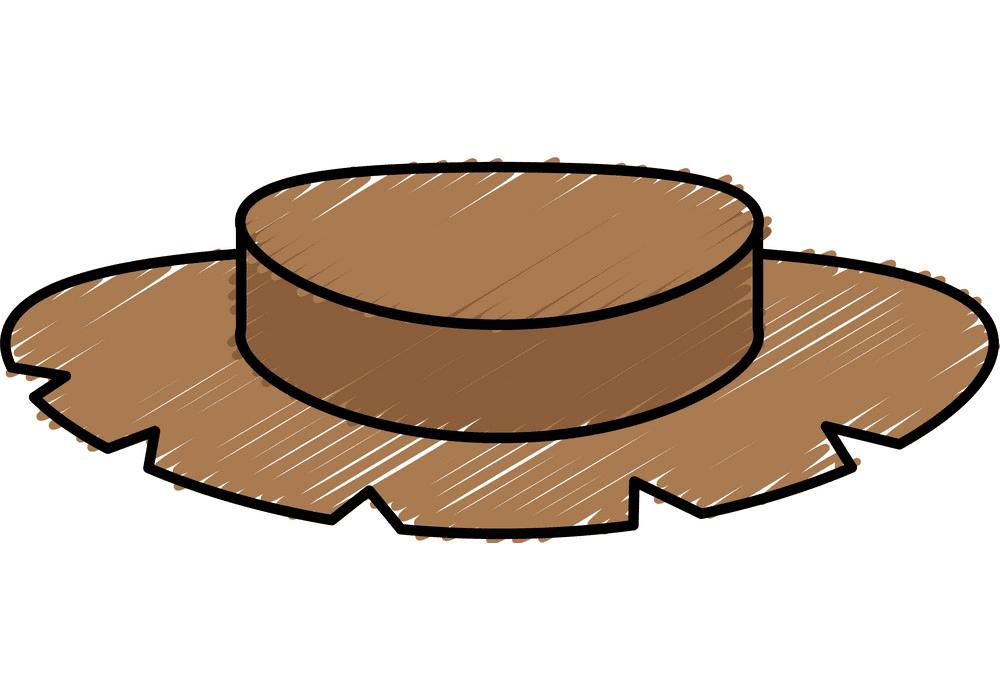 Farmer Hat clipart for kid