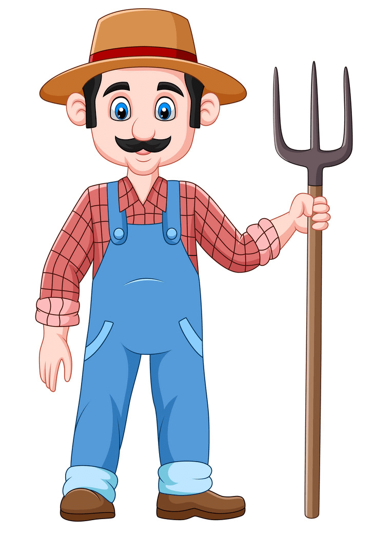 Farmer clipart 3