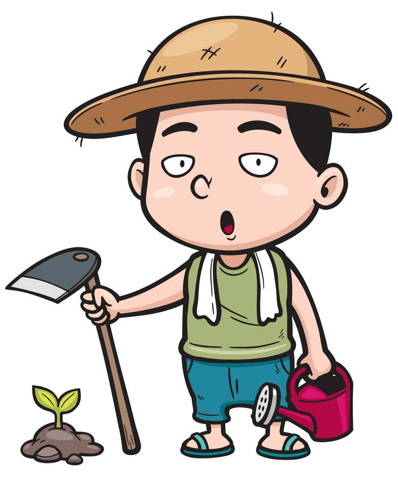 Farmer clipart 5