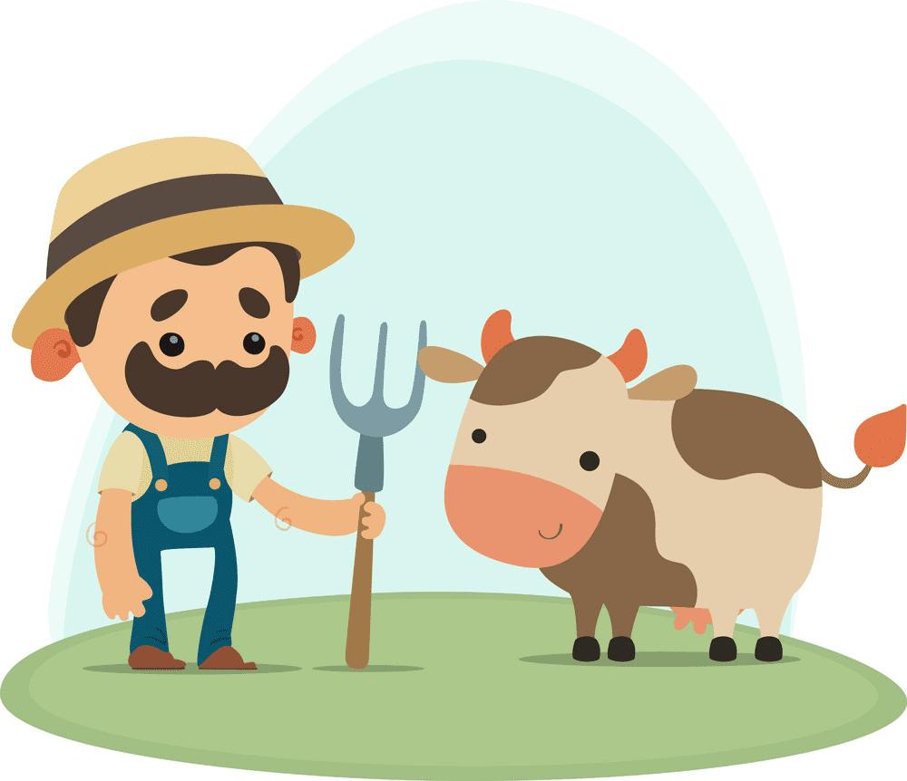 Farmer clipart for kid