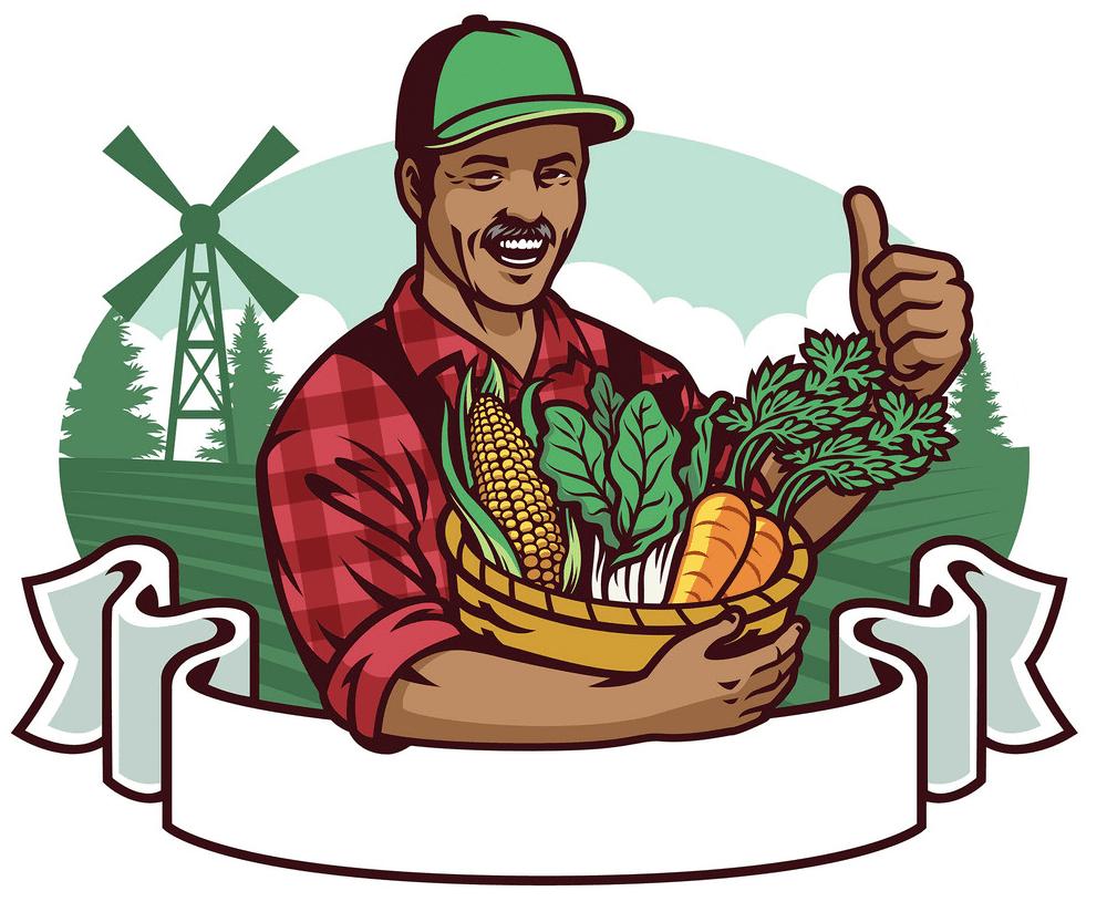 Farmer clipart free for kids