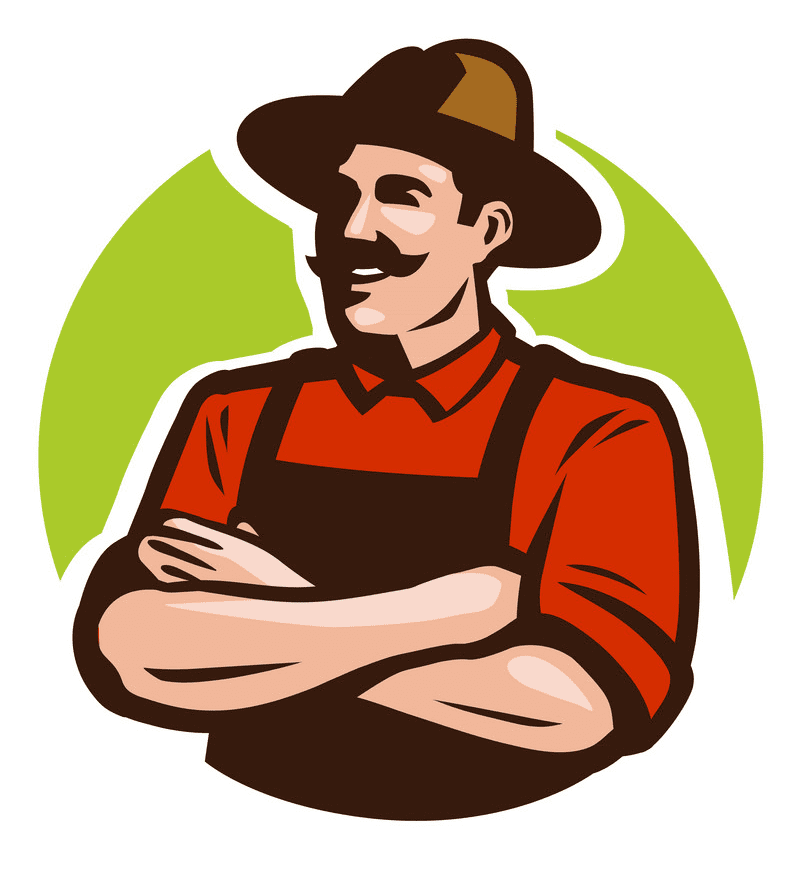Farmer clipart free images