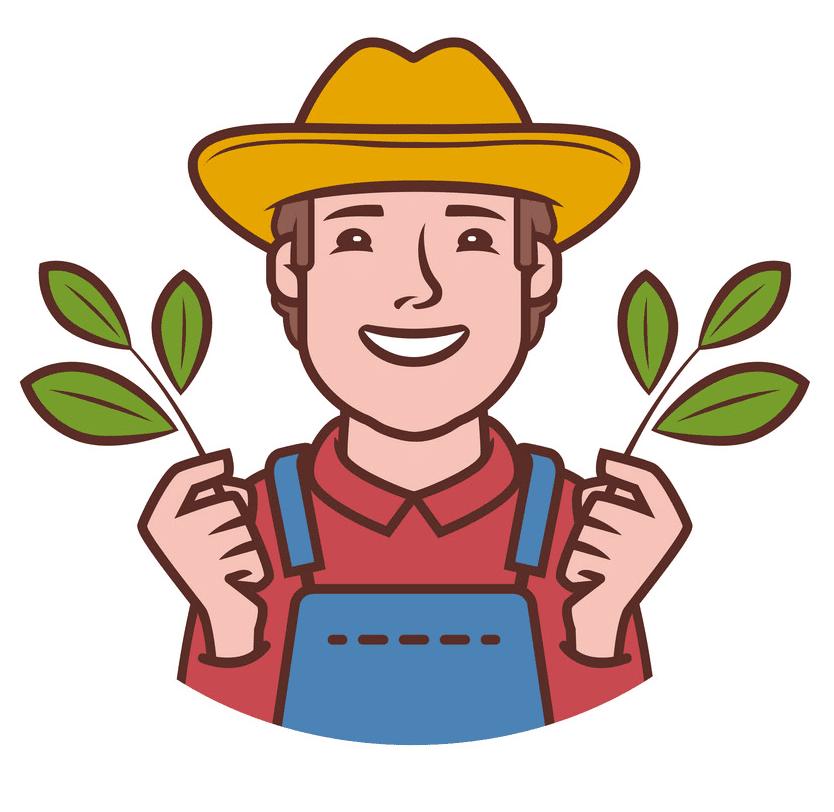 Farmer clipart free picture