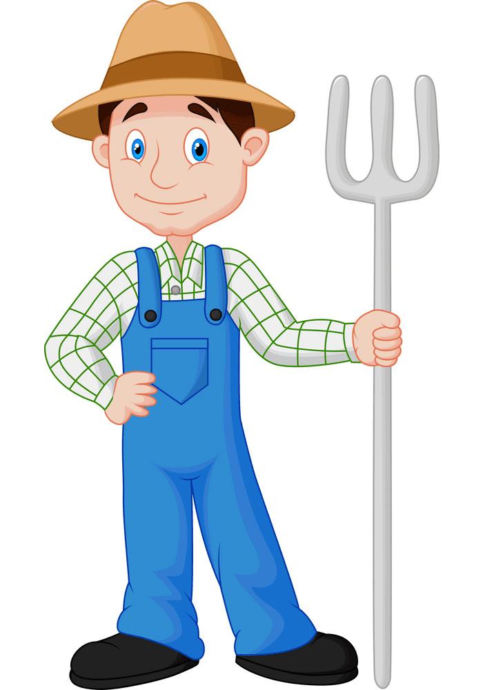 Farmer clipart picture