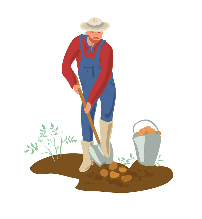 Farmer clipart png for kid