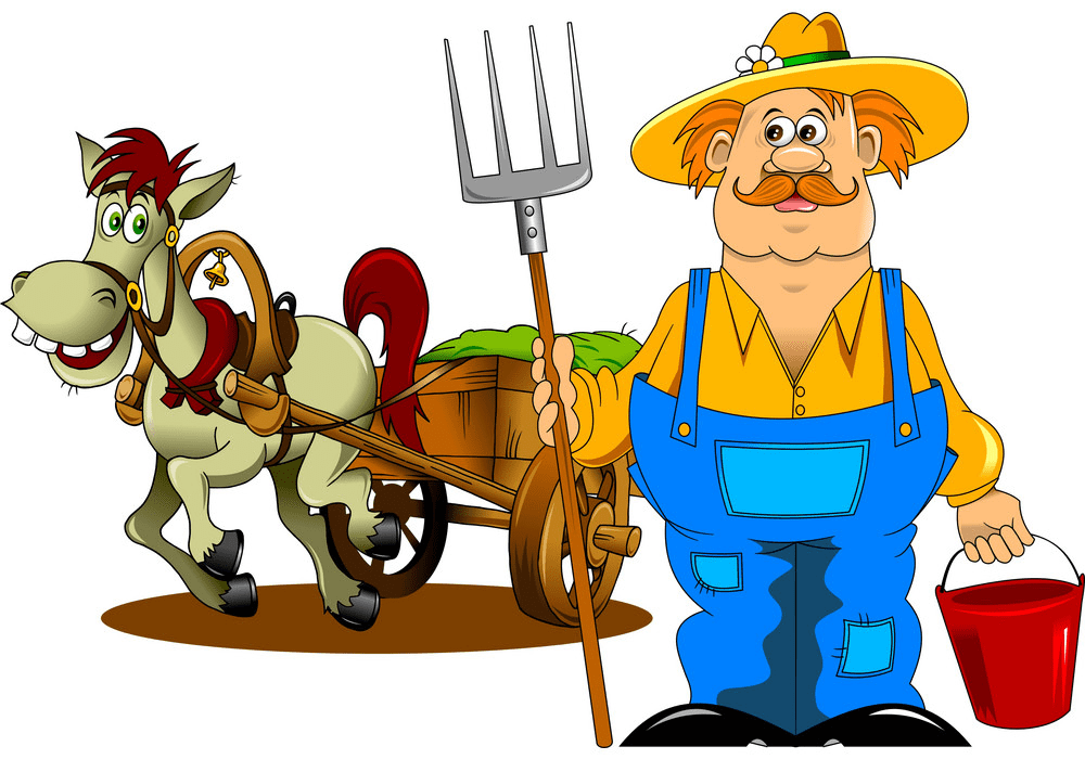 Farmer clipart png free
