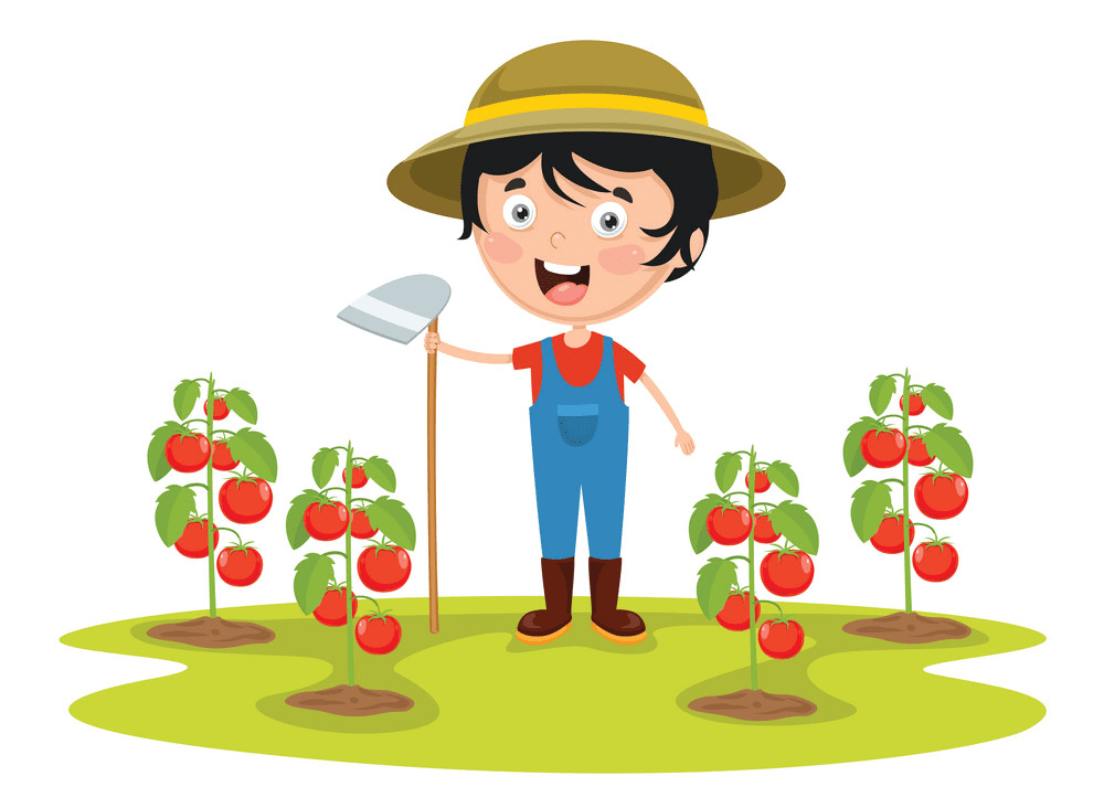 Farmer clipart png image