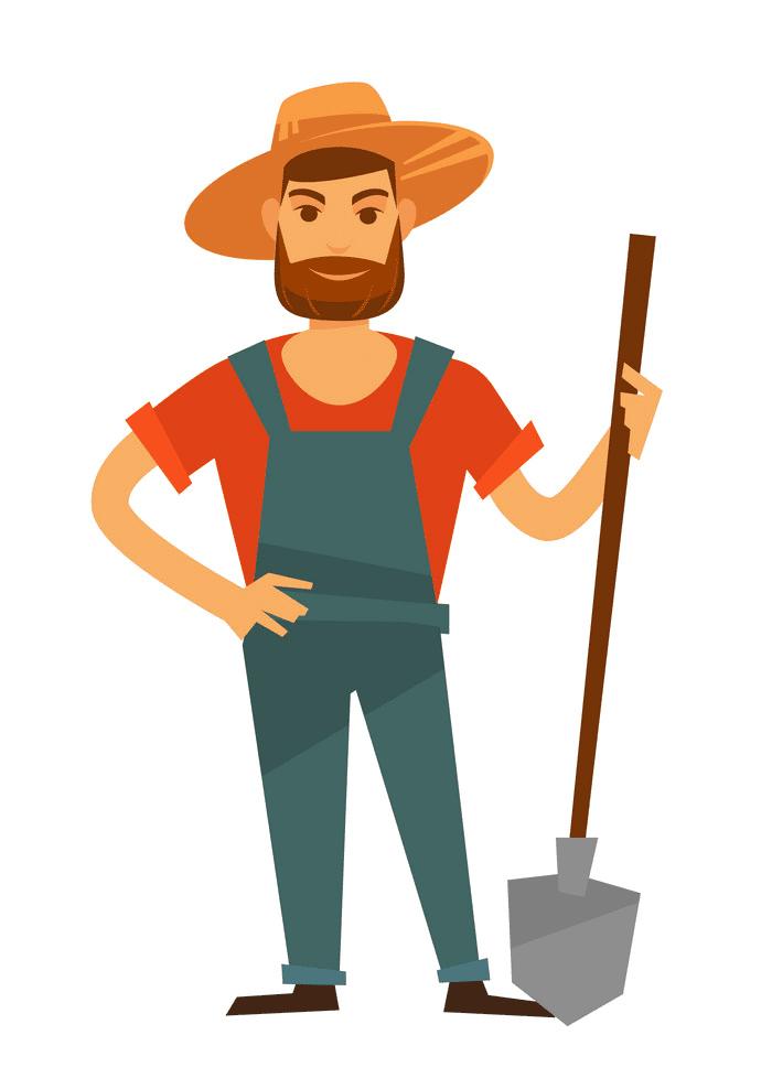 Farmer clipart png