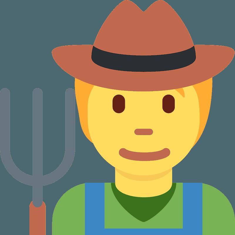 Farmer clipart transparent 5