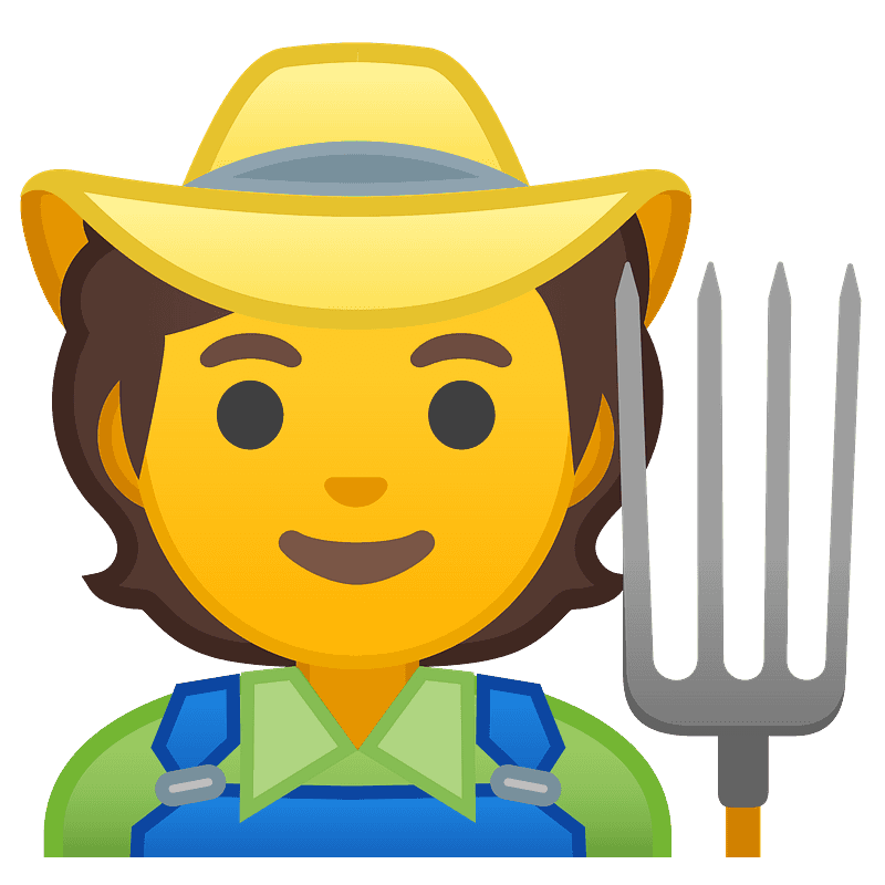 Farmer clipart transparent 6