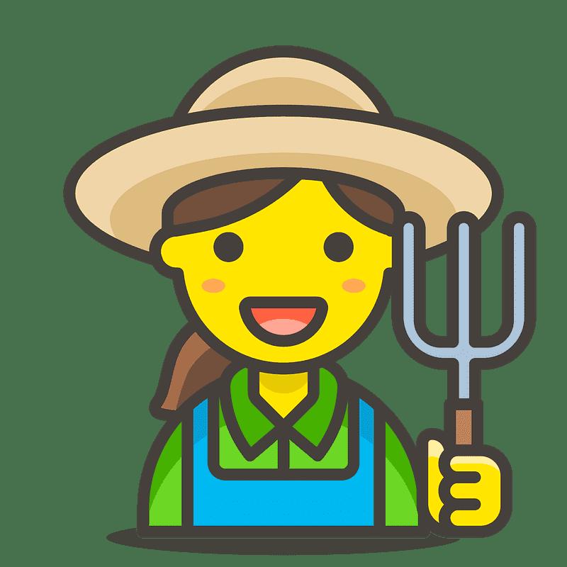 Farmer clipart transparent background 1