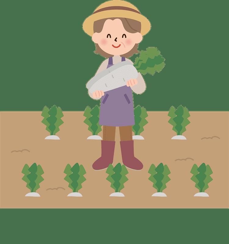 Farmer clipart transparent background 3