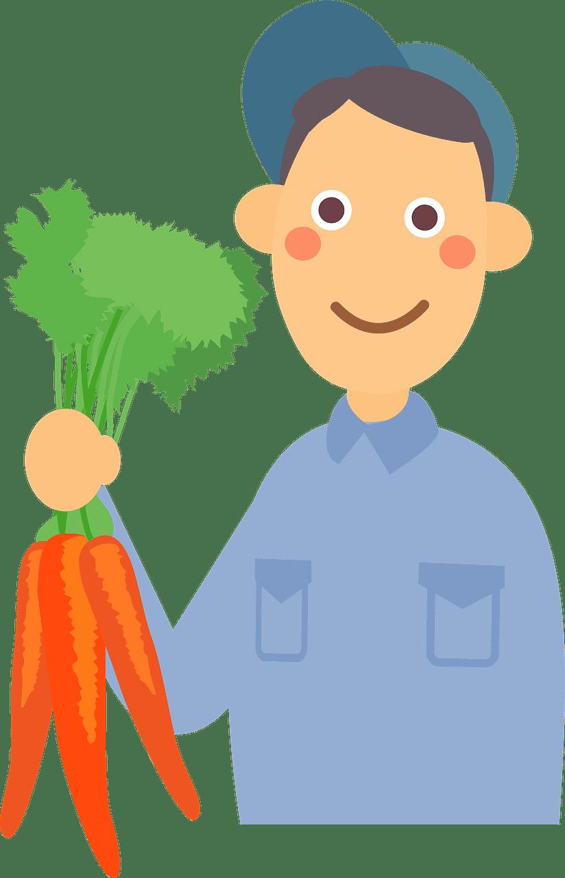 Farmer clipart transparent background 6