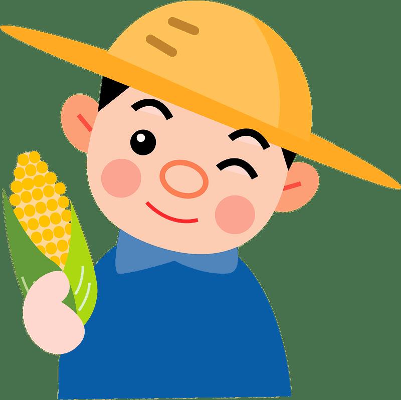 Farmer clipart transparent background 7
