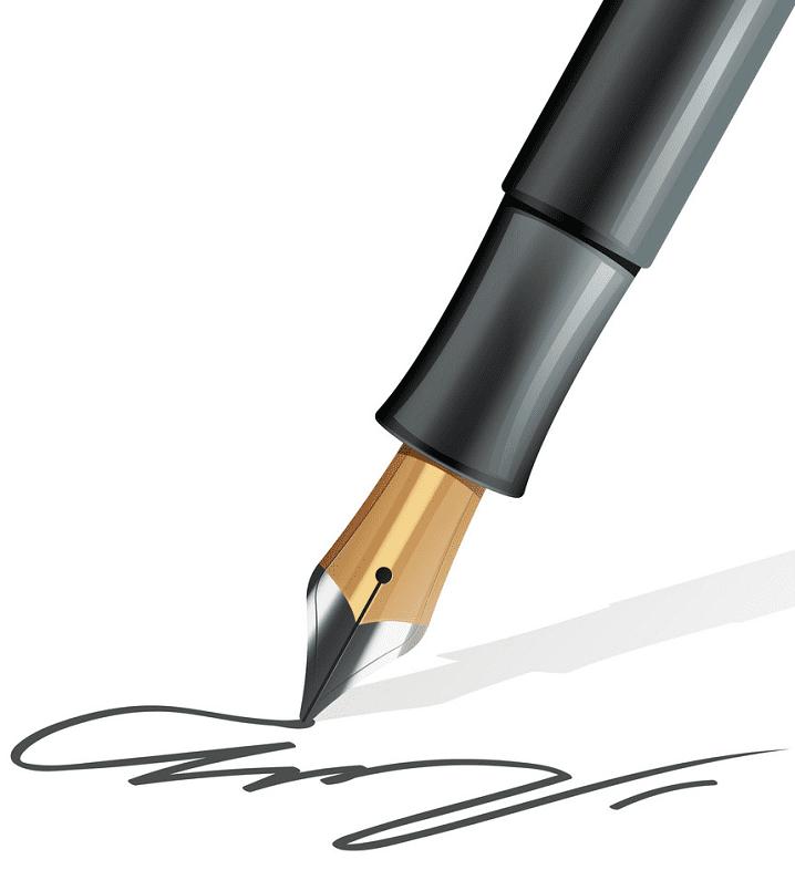 Fountain Pen clipart 1