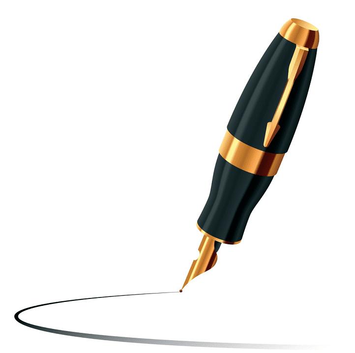 Fountain Pen clipart free