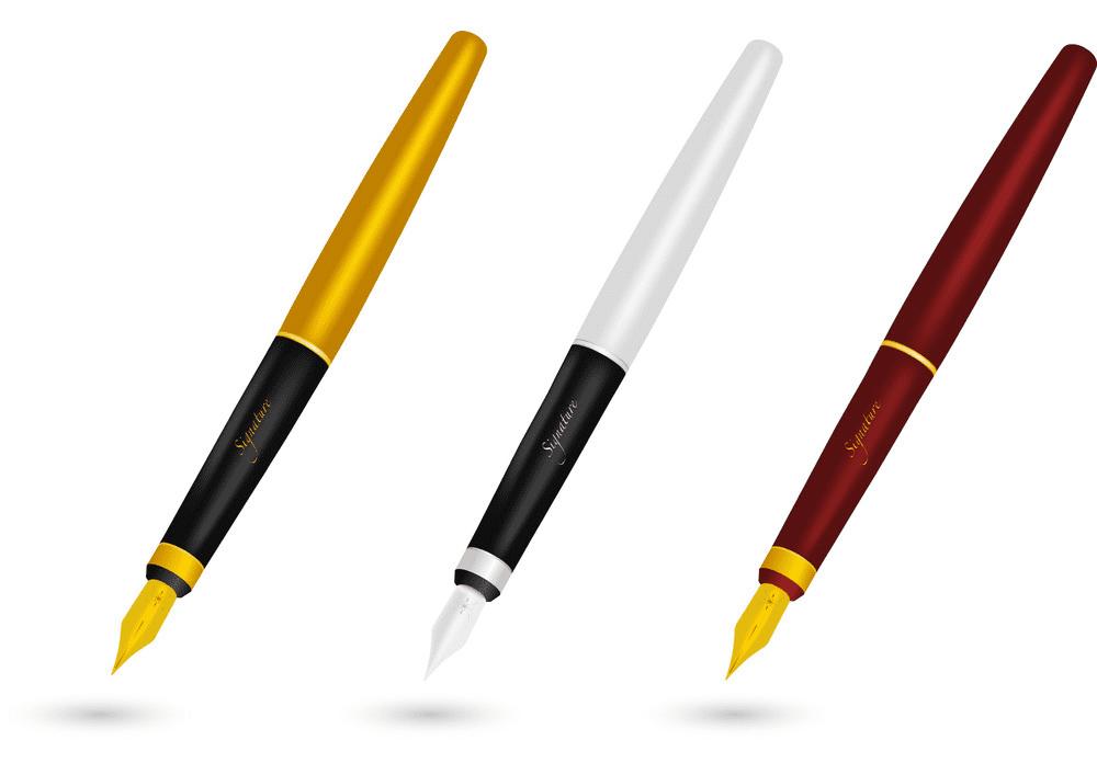 Fountain Pen clipart images
