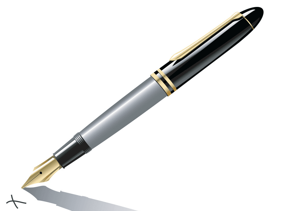 Fountain Pen clipart png free