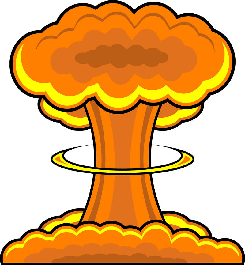 Free Nuclear Explosion clipart