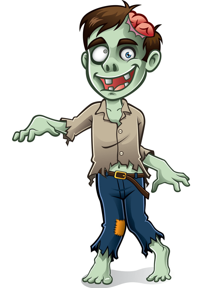 Free Zombie clipart download